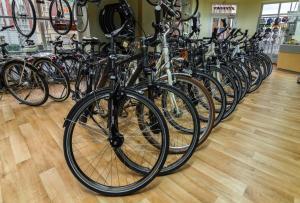 Fahrradreihe